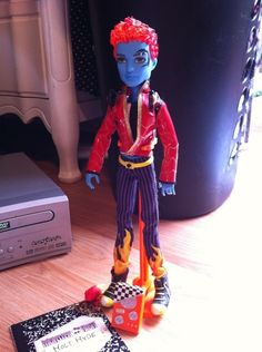 Holt Hyde Monster High boy doll RARE everything included
