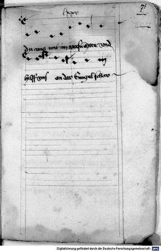 Mönch von Salzburg. Oswald von Wolkenstein: Geistliche Lieder mit Melodien Bayern/Österreich, erste Hälfte 15. Jh.: 3. Viertel 15. Jh. Cgm 715 Folio 155