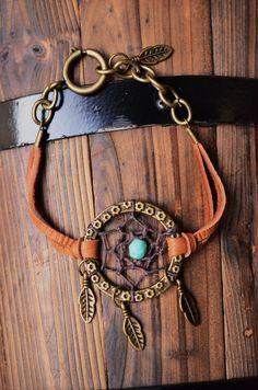 Daydream a Dreamcatcher Bracelet. $21.99, via Etsy.