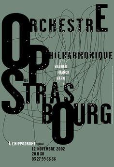 Orchestre philharmonique de Strasbourg, 2002: by Catherine Zask
