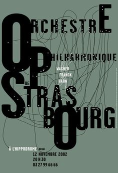 Orchestre philharmonique de Strasbourg, 2002: by Catherine Zask