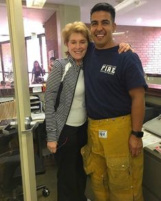 @fireman_323 - Dont be Shy Mom  When my very Good Friend Henry does a Surprise visit to my Moms work   Henrys Fire House is just 2 blocks from moms work  Thank you brother she sure appreciated that   Your holding on a little tight there Ma!  @fireman_323 #fireman_323  @lafd @joinlafd #lafd  I love you mom.. . ___Want to be featured? _____ Use hastag chiefmiller  WWW.CHIEFMILLERAPPAREL.COM . . CHECK OUT! Facebook- chiefmiller1 Periscope -chief_miller Tumblr- chief-miller Twitter…