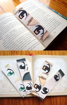 Sword Art Online Bookmarks #swordartonline I would love these!