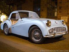 1961 Triumph TR3B ✏✏✏✏✏✏✏✏✏✏✏✏✏✏✏✏ IDEE CADEAU / CUTE GIFT IDEA ☞ http://gabyfeeriefr.tumblr.com/archive ✏✏✏✏✏✏✏✏✏✏✏✏✏✏✏✏