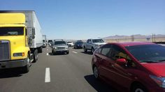 Chemical spill snarls traffic near Nevada state line (Christian Cazares/FOX5)