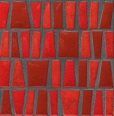 "Porcelanosa ""Trento Damasco"" ceramic mosaic wall...| #saltstudionyc"