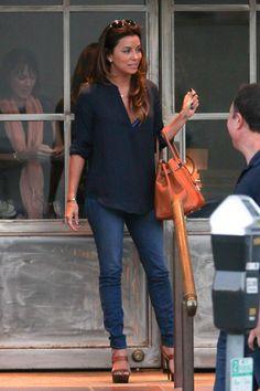 Eva Longoria - Eva Longoria Goes to Dinner in Brentwood