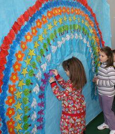 Arcoiris de la Paz | Manualidades para niños