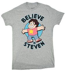 df5be3a6f49f Steven-Universe-Believe-In-Steven-T-shirt Steven Universe Clothes