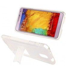 Forro Galaxy Note 3 - Sline con Stand Transparente  CO$ 25.614,36