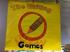 """The Writing Games"" for STAAR prep!"