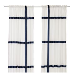 Loved the look of these in person... I actually just passed them by when looking online.  MORBLAD Curtains, 1 pair - IKEA