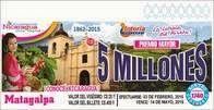 Resultados Loteria Nacional de Nicaragua martes 17 de Febrero 2015