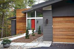 Mid Century Modern Homes Exterior Color – DECOREDO