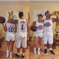 Couples College halloween costume ideas Cool Couple Halloween Costumes, Cute Couples Costumes, Halloween Costumes To Make, Halloween Kostüm, Halloween Outfits, Halloween Couples, Disney Couple Costumes, Group Halloween, Lola Bunny Halloween