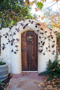 This is only a link to the photograph of this garden gate, but it is beautiful and inspirational.