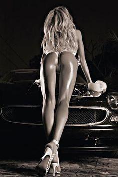 Beautiful Blonde - Car Washing Gets Interesting  http://www.popartuk.com/photography/female-photo/beautiful-blonde-hr17701-poster.asp  #Erotic #Girls #CarWarsh