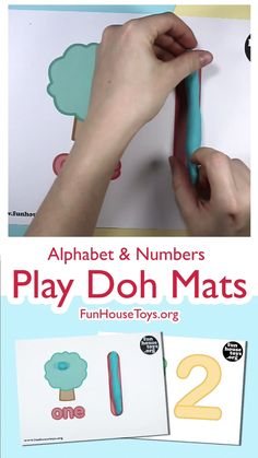 Not all toddlers learn to write in the same way and to teach them can be a test of patience. So we created a innovative way to practice writing with your child. Play dough is tactile, fun and great for all multi-sensory early developmental play. Educational Activities For Preschoolers, Fun Writing Activities, Literacy And Numeracy, Preschool Writing, Numbers Preschool, Preschool Learning Activities, Teaching Kids, Preschool Kindergarten, Educational Crafts