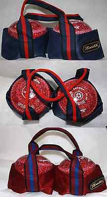 #Henselite 2 bowl lawn #bowls #carrier bowling bag maroon or navy heavy duty ,  View more on the LINK: http://www.zeppy.io/product/gb/2/121955948019/
