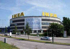 The world's largest IKEA store, situated at Kungens Kurva in Huddinge Municipality, Sweden. This IKEA store was opened in 1965.