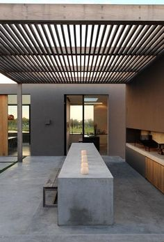 Check out this cool clean looking outdoor area