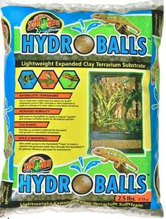 Zoo Med Hydroballs Clay Substrate