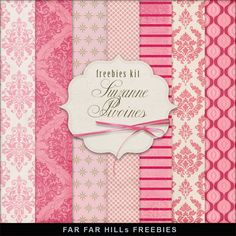 FREE Freebies Kit of Backgrounds - Suzanne Pivoines By Far Far Hill