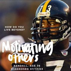 "Meet two time Super Bowl champ Kendall Simmons""Heading into my 2nd season as a Pittsburgh Steelers I developed T1D.  Diabetes management during a game day presented more of challenge than any NFL Defense. Living with diabetes in my opinion is more a mental disease than physical disease. Diabetes has to conform to my lifestyle. I try to support and motivate others to live everyday this way. My name is Kendall and with support from God my wife and the Steelers this is how I live beyond!"" #T1D…"