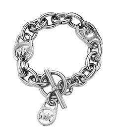 Michael Kors Logo Lock Toggle Bracelet #Dillards