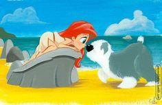 Ariel & Max! This is so cute❤