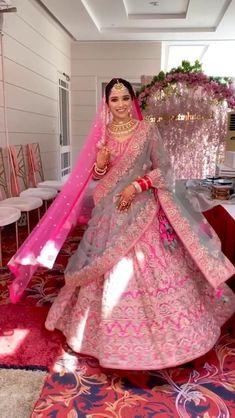 Pink Bridal Lehenga, Designer Bridal Lehenga, Indian Bridal Lehenga, Pakistani Bridal Dresses, Pink Lehenga, Sabyasachi Lehenga Bridal, Banarasi Lehenga, Lehenga Blouse, Latest Bridal Dresses