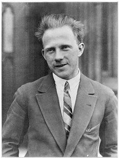 """Werner Heisenberg (1901-1976), German theoretical physicist. """"for the creation of quantum mechanics, the application of which has, inter alia, led to the discovery of the allotropic forms of hydrogen"""""""