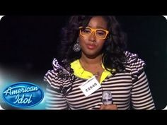 Melinda Ademi, Kamaria Ousley, Denise Jackson, and Candice Glover strolled on to stage as The Swagettes. #americanidol #idolgroups