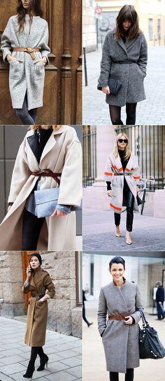 Winter Style Tweak: Belted Coat exPress-o waysify
