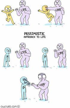 Optimist v.s pessimist