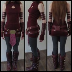 Ahsoka Cosplay- in progress by ~Bones333 on deviantART. This is one of the best I have seen!!