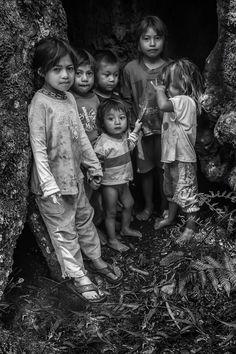 """Niños guaranies"" de Daniel Alberto Mari - Argentina - Junio/2016"