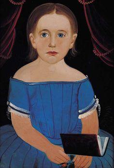 folk art portrait - American Folk Art Museum