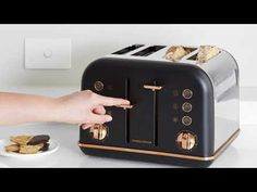 Roll Top Design Stainless.. Morphy Richards Special Edition Accents Bread Bin Consumers First