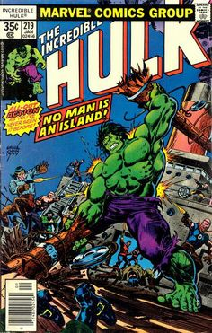 Lot Detail - The Incredible Hulk Marvel Comics (Featuring Ernie Chan, Al Milgrom, Ron Wilson, and Bob Layton Cover/Art; Len Wein and Roger Stern Stories) Dc Comics, Marvel Comics Superheroes, Marvel Comic Books, Comic Books Art, Book Art, Hulk Marvel, Hulk Comic, Defenders Marvel, Batman