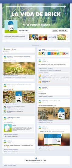 """La vida de brick """"Así es como me reciclo"""", un  interesante y curioso perfil de Facebook que no te dejará indiferente :)"""