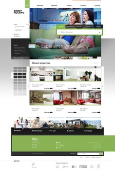 Direct Housing Web Site Design