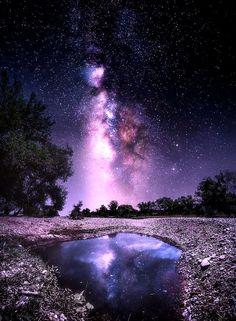 Crator Lake Galaxy.. by Christiyan Mladenov