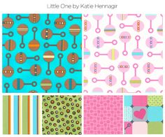 Little One by Katie Hennagir. It will be available in October in two colorways: Sunshine and Sweetpea.