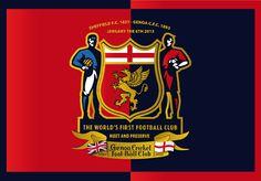 Genoa Cfc, First Football, First World, Club, History, Cricket, Red, Italy, Genoa