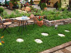 Zielnik w ogrodzie