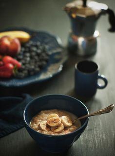 Oatmeal with Bananas & Brown Sugar