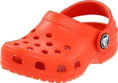 crocs Classic Clog (Infant/Toddler/Little Kid/Big Kid) http://amzn.to/HvTGHd