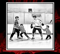 Original art work as part of 2012/2013 wall calendar.  I use this to raise money for my son's travel expenses for the Nashville Jr. Predator's, Midget Major AAE Hockey Team.