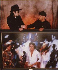 Michael Jackson's commissioned art work..